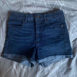 Bootlegger High-Waisted Shorts